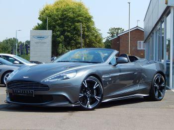 Aston Martin Vanquish V12 [595] S 2dr Volante Touchtronic 5.9 Automatic Convertible (2017)