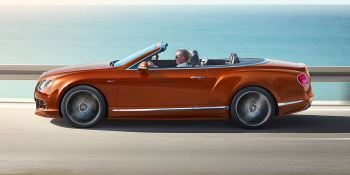 Bentley Continental GT Speed Convertible - Take in more of every spectacular journey image 2 thumbnail