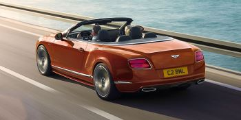 Bentley Continental GT Speed Convertible - Take in more of every spectacular journey image 1 thumbnail