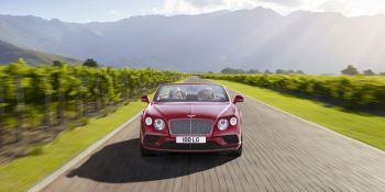 Bentley Continental GT V8 Convertible - A powerful, convertible grand tourer image 4 thumbnail