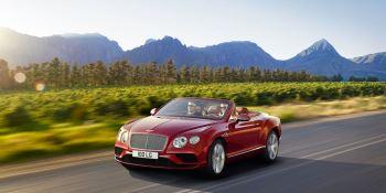 Bentley Continental GT V8 Convertible - A powerful, convertible grand tourer image 1 thumbnail
