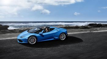 Lamborghini Huracan AWD Spyder - Inspiring Technology image 1 thumbnail