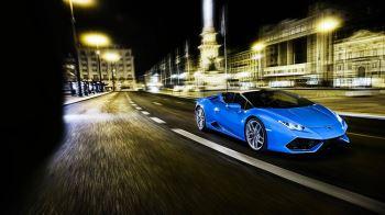Lamborghini Huracan AWD Spyder - Inspiring Technology image 5 thumbnail