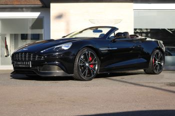 Aston Martin Vanquish V12 [568] 2dr Volante Touchtronic 5.9 Automatic Convertible (2016)