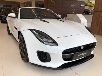 Jaguar F-TYPE 3.0 Supercharged V6 R-Dynamic Automatic 2 door Convertible (17MY) image
