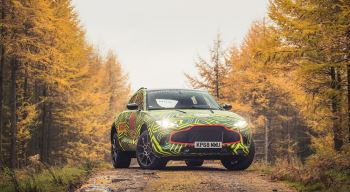 Aston Martin DBX - Coming in 2019 to Grange