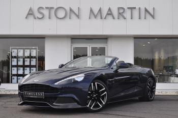 Aston Martin Vanquish V12 [568] 2dr Volante Touchtronic 5.9 Automatic Convertible (2015)
