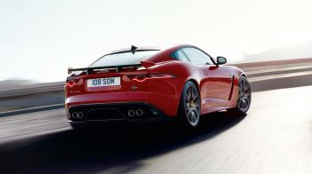 Jaguar F-TYPE 2 0 Chequered Flag SPECIAL EDITIONS 3 0 Automatic 2 door  Coupe (19MY) at Jaguar Barnet
