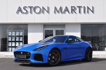 Jaguar F-TYPE 5.0 Supercharged V8 SVR 2dr AWD Automatic Coupe (2017)
