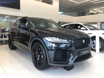 Jaguar F-PACE 5.0 Supercharged V8 SVR AWD Automatic 5 door Estate (18MY) image
