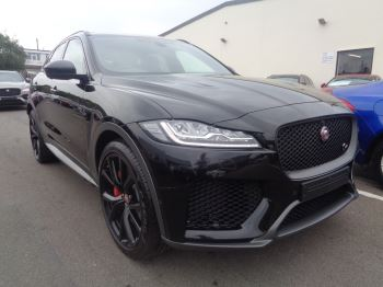 Jaguar F-PACE SVR Automatic 5 door (2019)