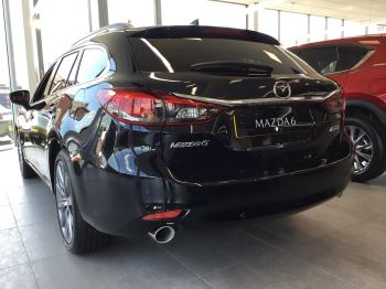 Mazda 6 2.2d [184] Sport Nav+ 5dr WITH MAZDA SAFETY PACK image 6 thumbnail