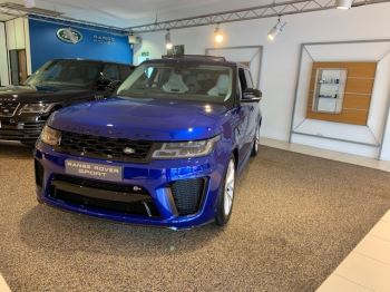 Land Rover Range Rover Sport 5.0 V8 S/C 575 SVR - Sliding Panoramic Roof - Privacy Glass - Head Up Display -  image 2 thumbnail