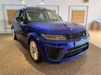 Land Rover Range Rover Sport 5.0 V8 S/C 575 SVR - Sliding Panoramic Roof - Privacy Glass - Head Up Display -  image 10 thumbnail