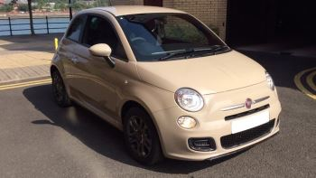 Fiat 500 1.2 S - Gumetal Grey Alloys, Bluetooth, USB 3 door Hatchback (2015) image