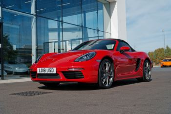 Porsche Boxster S 2.5 Semi-Automatic 2 door Convertible (2018)