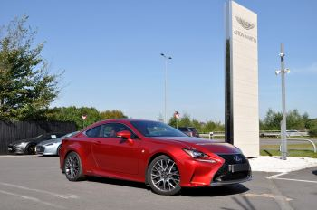 Lexus RC RC 300H F SPORT PREMIUM LSS  2.5 Petrol/Electric Automatic 2 door Coupe (2018)