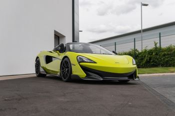 McLaren 600LT Spider Spider 3799.0 Semi-Automatic 2 door Convertible (2019)