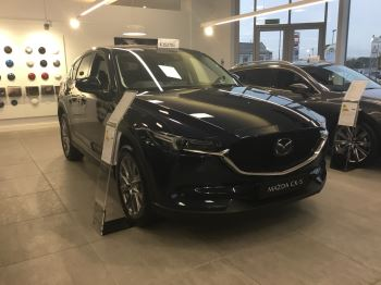 Mazda CX-5 2.2d 184 Sport Nav+ AWD Diesel Automatic 5 door Estate (18MY)