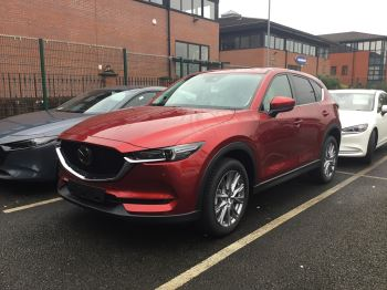 Mazda CX-5 2.2d 184 Sport Nav+ AWD STONE LEATHER + SAFETY PACK Diesel Automatic 5 door Estate (18MY)