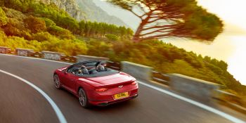 Bentley New Continental GT V8 Convertible - Breathtaking open-air performance