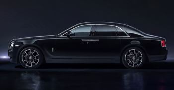 Rolls-Royce Black Badge Ghost - Reveals its dark side
