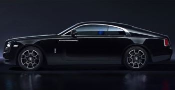 Rolls-Royce Black Badge Wraith - A dynamic Rolls-Royce that powers into the dark thumbnail image
