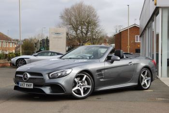 Mercedes-Benz SL SL 400 AMG Line 2dr 9G-Tronic 3.0 Automatic Convertible (2017)