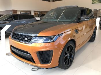 Land Rover Range Rover Sport 5.0 P575 S/C SVR Automatic 5 door Estate (19MY) image