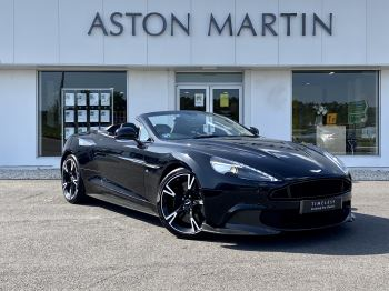 Aston Martin Vanquish V12 [595] S 2dr Volante Touchtronic 5.9 Automatic Convertible (2017)