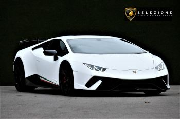 Lamborghini Huracan LP 640-4 Performante 2dr LDF 5.2 Automatic Coupe (2018)