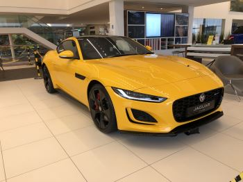Jaguar F-TYPE 5.0 P450 Supercharged V8 R-Dynamic Automatic 2 door Coupe