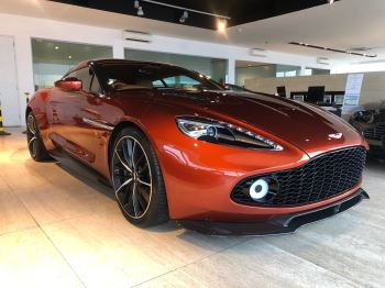 Aston Martin Vanquish Zagato Coupe 5.9 Automatic 2 door (2017)