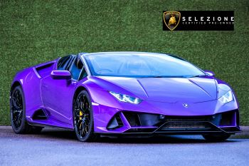 Lamborghini Huracan EVO Spyder LP 640-4 5.2 Semi-Automatic 2 door Coupe (2020)