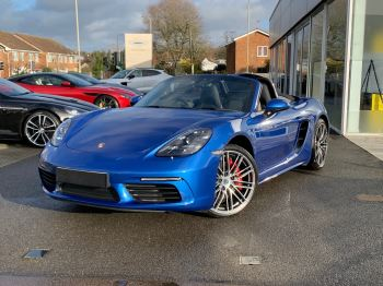 Porsche Boxster 2.5 S 2dr PDK Automatic Roadster (2018)