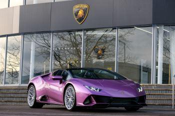 Lamborghini Huracan EVO Spyder 5.2 V10 640 2dr Auto AWD image 26 thumbnail