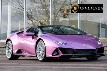 Lamborghini Huracan EVO Spyder 5.2 V10 640 2dr Auto AWD Automatic Convertible (2021)