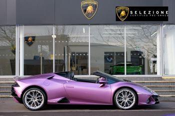Lamborghini Huracan EVO Spyder 5.2 V10 640 2dr Auto AWD image 2 thumbnail