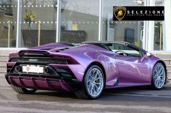 Lamborghini Huracan EVO Spyder 5.2 V10 640 2dr Auto AWD image 3 thumbnail