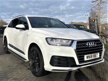 Audi Q7 3.0 TDI 218 Quattro S Line 5dr Tip - BOSE 3D Sound System - Panoramic Roof Diesel Automatic Estate (2018)