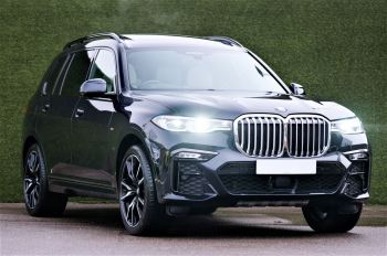 BMW X7 xDrive40i M Sport 5dr Step - Head up Display - M Sport exhaust system image 1 thumbnail