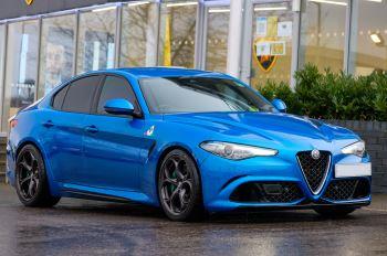 Alfa Romeo Giulia 2.9 V6 BiTurbo Quadrifoglio 4dr Auto Automatic Saloon (2018)