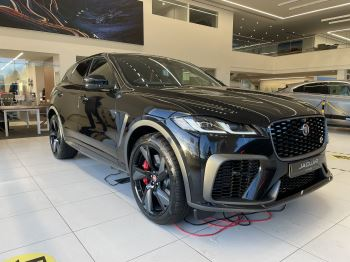 Jaguar F-PACE 5.0 V8 550 SVR AWD Automatic 5 door Estate image