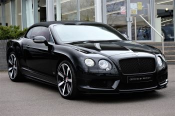 Bentley Continental GT V8 S Convertible Black Edition 4.0 V8 S 2dr - Concours Series  image 1 thumbnail