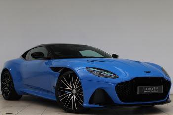 Aston Martin DBS V12 Superleggera Touchtronic Special Ceramic Blue - B&O 5.2 Automatic 2 door Coupe