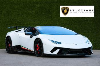 Lamborghini Huracan Performante Spyder 5.2 V10 AWD image 1 thumbnail