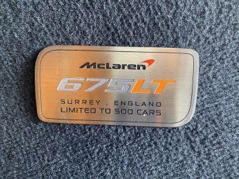 McLaren 675LT COUPE CLUBSPORT PACK image 21 thumbnail