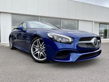 Mercedes-Benz SL-Class SL 500 AMG Line 2dr 9G-Tronic 4.7 Automatic Convertible