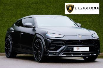 Lamborghini Urus 4.0T FSI V8 - House of Urban Nero Design Exterior - Wrapped in Matt Grey Automatic 5 door Estate