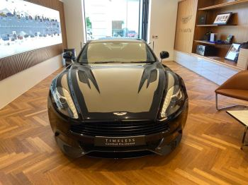 Aston Martin Vanquish V12 [568] 2+2 2dr Touchtronic 8 speed Carbon 17 Model Year Apple Car Play  image 1 thumbnail